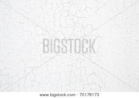 Old Rustic Wooden White Background In Shabby Chic Style Patterned.