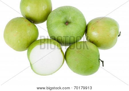 Monkey Apple Green Fruit Of Nature