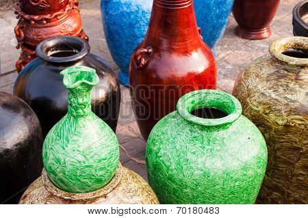 Potteries, Art Work , Indian Handicrafts Fair At Kolkata