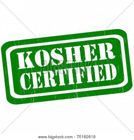 Kosher Certified-stamp