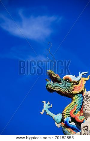 exhaling dragon