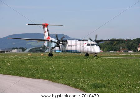Turboprop Airplane