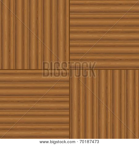 Wood Plank For Background, Vector Illustration