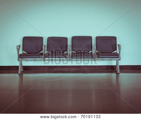 Empty Seat At The Airport