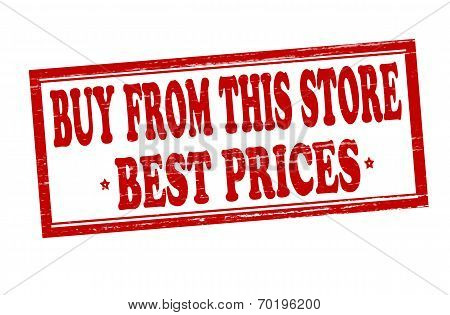 Buy From This Store Best Prices