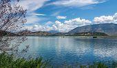 foto of albania  - Lagoon in Butrint archeological site  - JPG