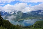 foto of annecy  - Lake Annecy in the French Alps - JPG