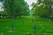 picture of world war one  - German cemetery of world war one in France - JPG