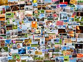 pic of memento  - Collage of photos of a persons life in 4x3 ratio - JPG