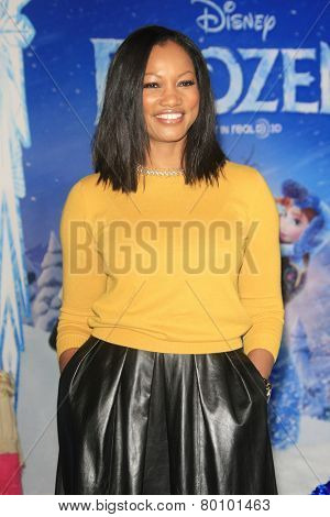LOS ANGELES - NOV 19: Garcelle Bauvais at the premiere of Walt Disney Animation Studios' 'Frozen' at the El Capitan Theater on November 19, 2013 in Los Angeles, CA