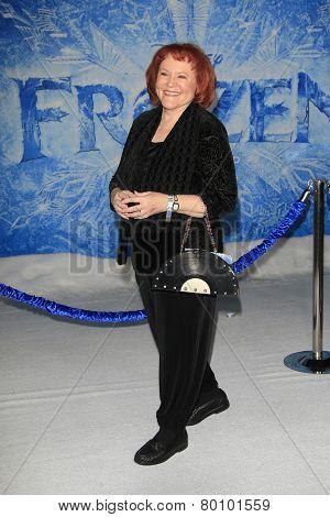 LOS ANGELES - NOV 19: Edie McClurg at the premiere of Walt Disney Animation Studios' 'Frozen' at the El Capitan Theater on November 19, 2013 in Los Angeles, CA