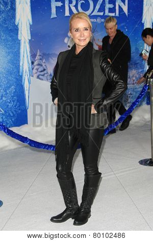 LOS ANGELES - NOV 19: Kim Richards at the premiere of Walt Disney Animation Studios' 'Frozen' at the El Capitan Theater on November 19, 2013 in Los Angeles, CA