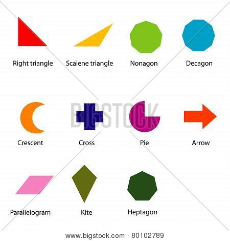 Shapes Chart For Kids.eps