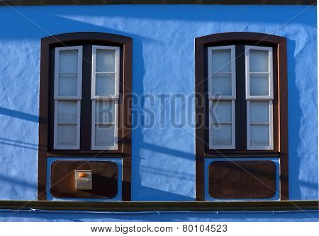 Architectural detail in San Cristobal de la Laguna, Tenerife, Canary Islands