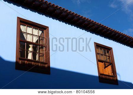 Architectural detail in San Cristobal de la Laguna, Tenerife, Canary Islands