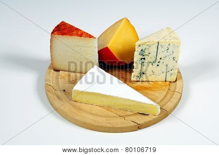 European Cheese Selection.