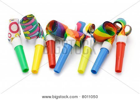 Colorful Party Blowers