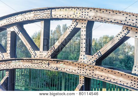 Riveted Old Bridge Arch