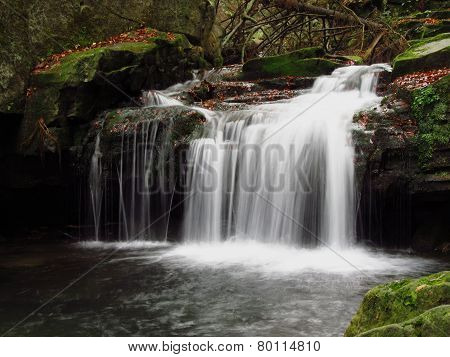 waterfall on Satina brook