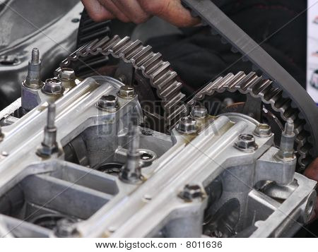 Replacement Of Camshaft Timing Belt