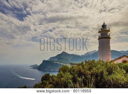 Lighthouse at Port de Soller
