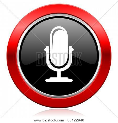 microphone icon podcast sign