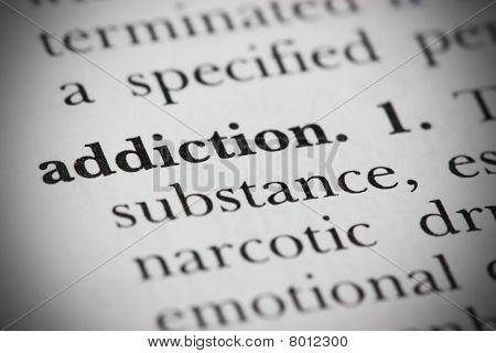 Dictionary Word Addiction