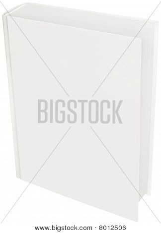 White Hard Cover Book