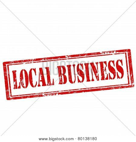 Local Business-stamp