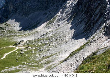Mt. Alpspitze near Garmisch-Partenkirchen