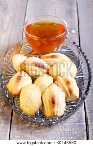 Honey Madeleines Biscuits