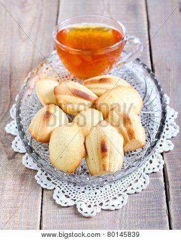 Honey Madeleines