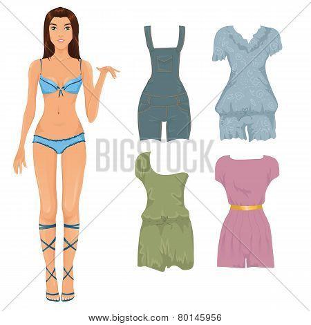Set Of Female Jumpsuits