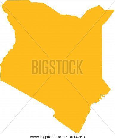 Kenia map