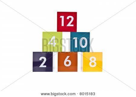 Even Number Blocks