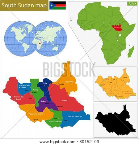 Administrative division of the Republic of South Sudan.