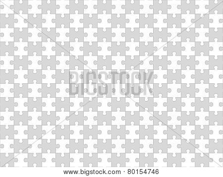Jigsaw puzzle seamless background