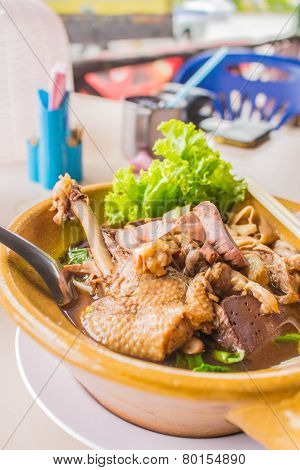 Duck Braised Beef Noodle