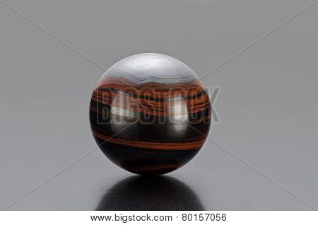 Iron Tiger Eye Sphere