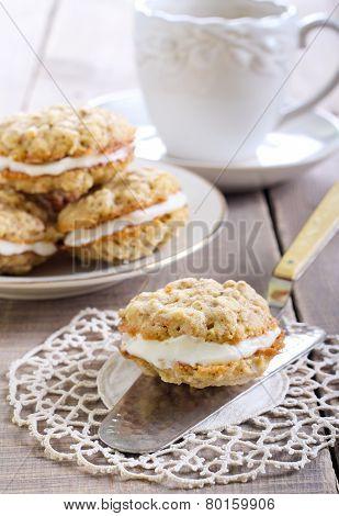 Oat Sandwich Cookies