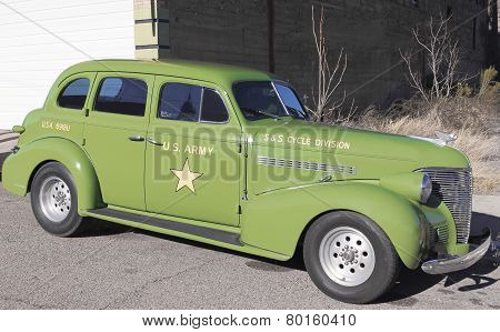 A 40S Us Army Staff Car, Lowell, Arizona