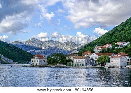 Village Of Lepetani,Tivat, Montenegro