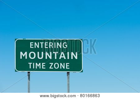 Mountain zone