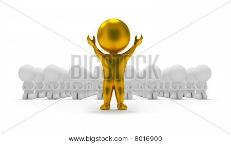3D Small People - Worship An Idol