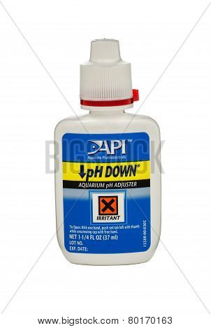 Plastic Bottle Of Ph Down 37 Ml