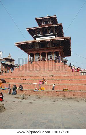 Stree life in Kathmandu,Nepal