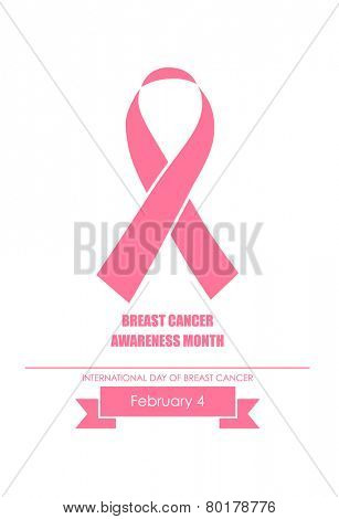 Breast Cancer Awareness cards design. Vector Illustration.