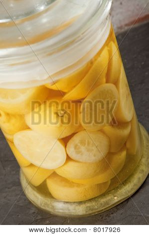 Preserved lemon slices