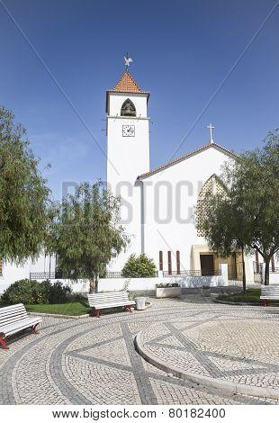 church of St Antonio - Couço, Alentejo, Portugal