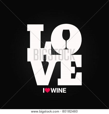 wine concept label background